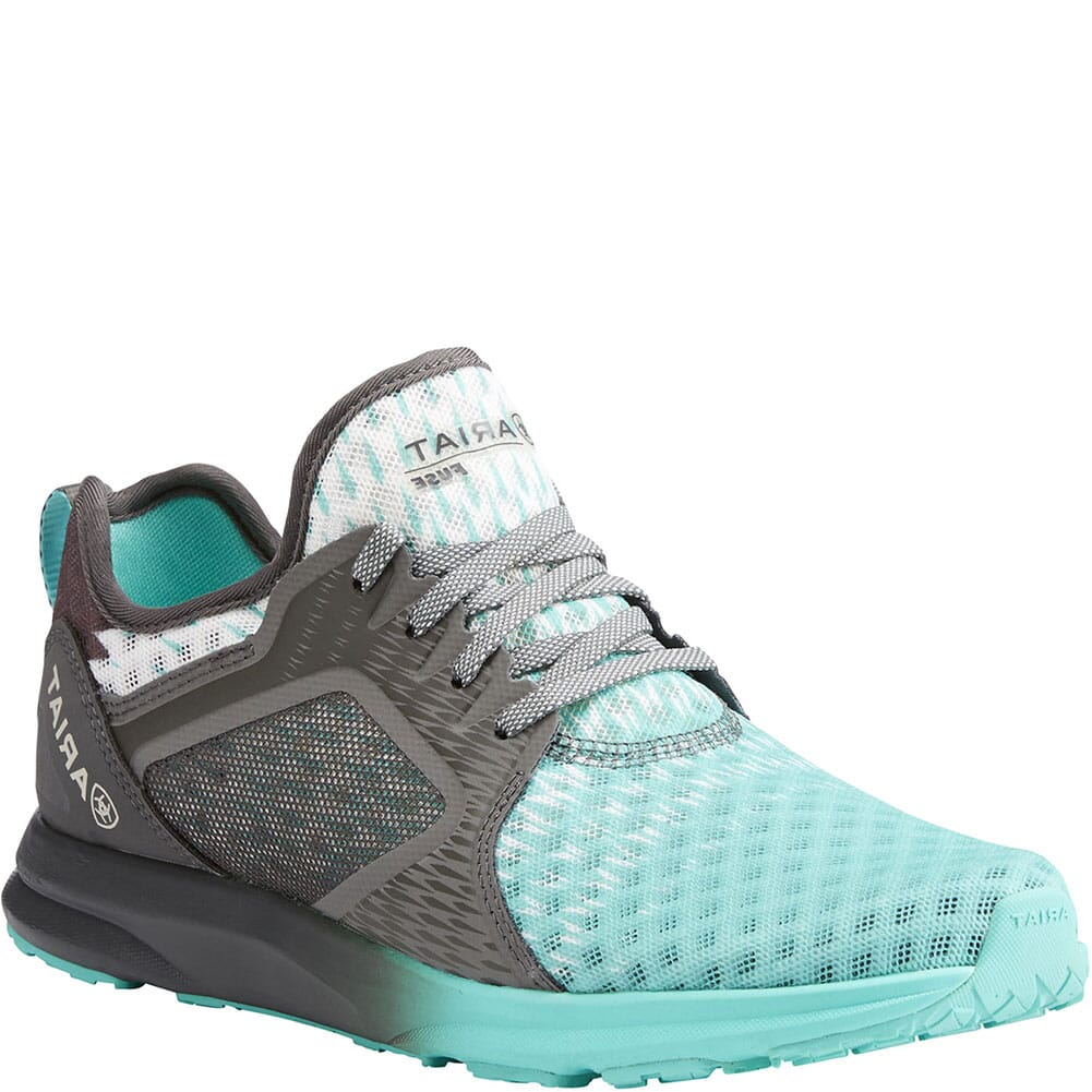 Image for Ariat Women's Fuse Athletic Shoes - Turquoise from bootbay