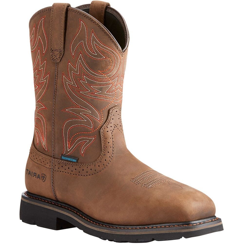 Image for Ariat Men's Sierra Delta Work Boots - Distressed Brown from bootbay