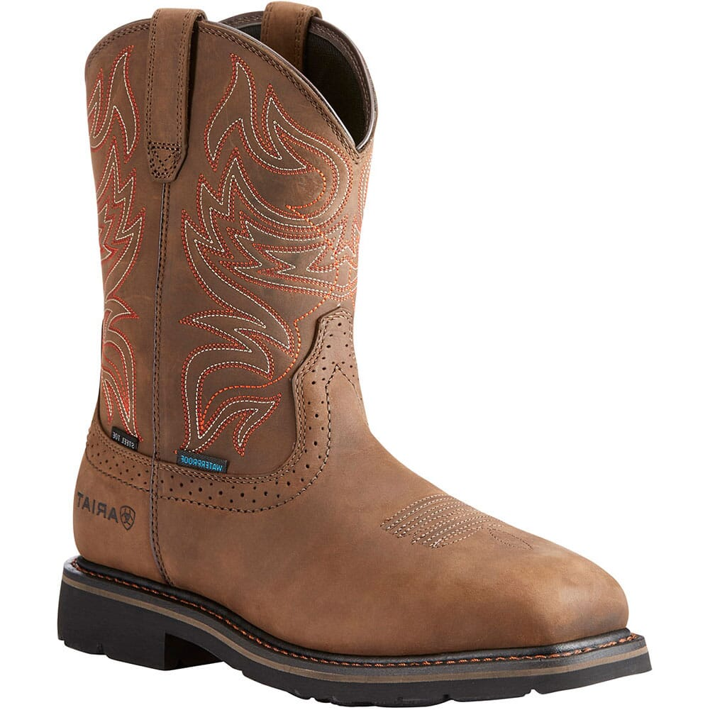 Image for Ariat Men's Sierra Delta Safety Boots - Distressed Brown from bootbay