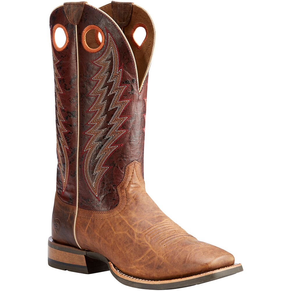 Image for Ariat Men's Branding Pen Western Boots - Tobacco Toffee from bootbay