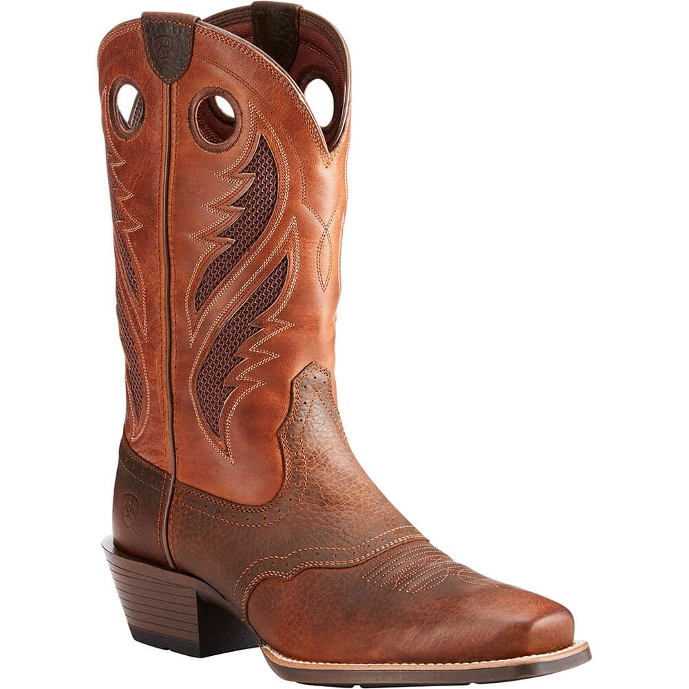 Image for Ariat Men's VentTek Ultra Western Boots - Oiled Rowdy from bootbay