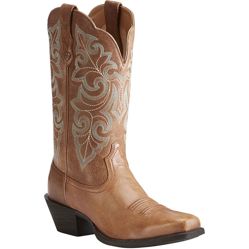 Image for Ariat Women's Round Up Western Boots - Wood from bootbay