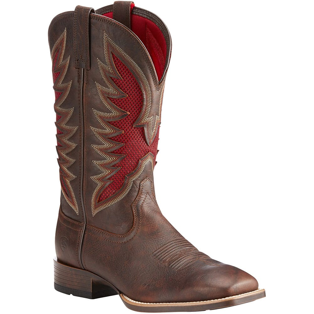 Image for Ariat Men's VentTek Ultra Western Boots - Barley Brown from bootbay