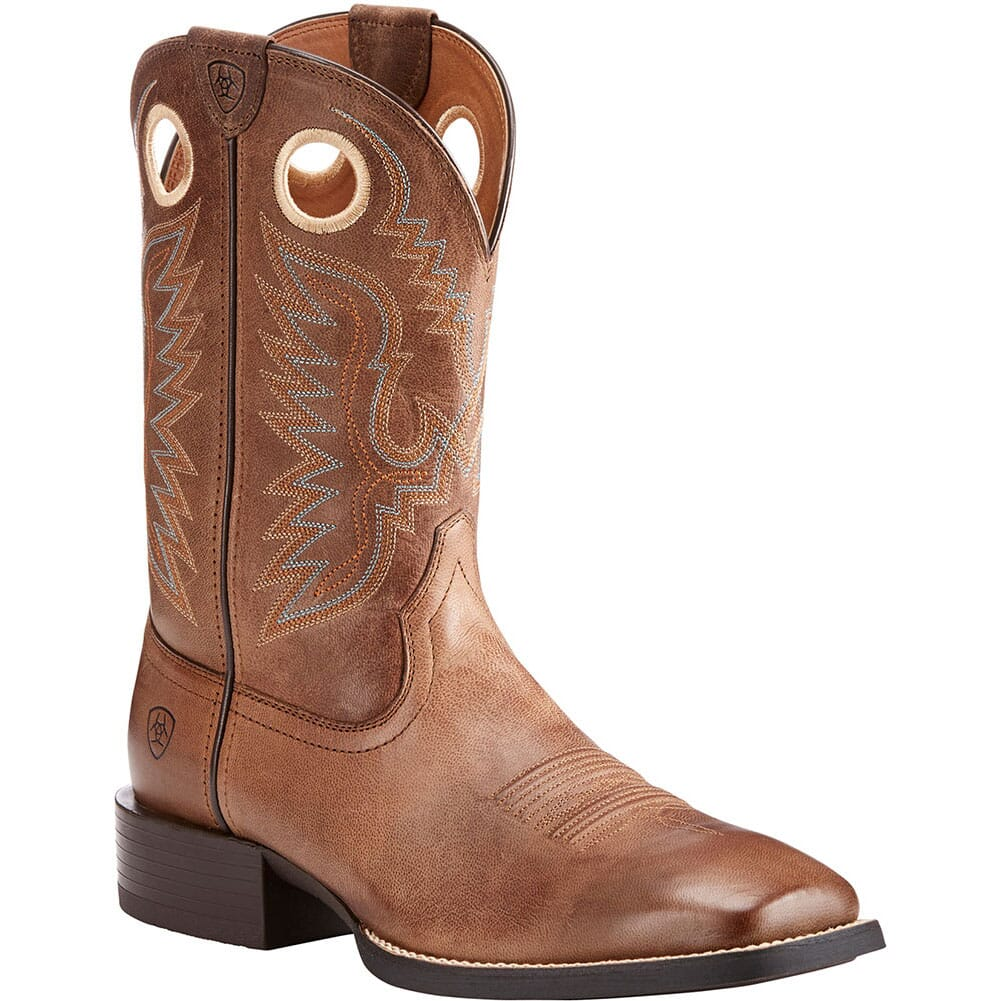 Image for Ariat Men's Sport Ranger Western Boots - Roasted Brown from bootbay