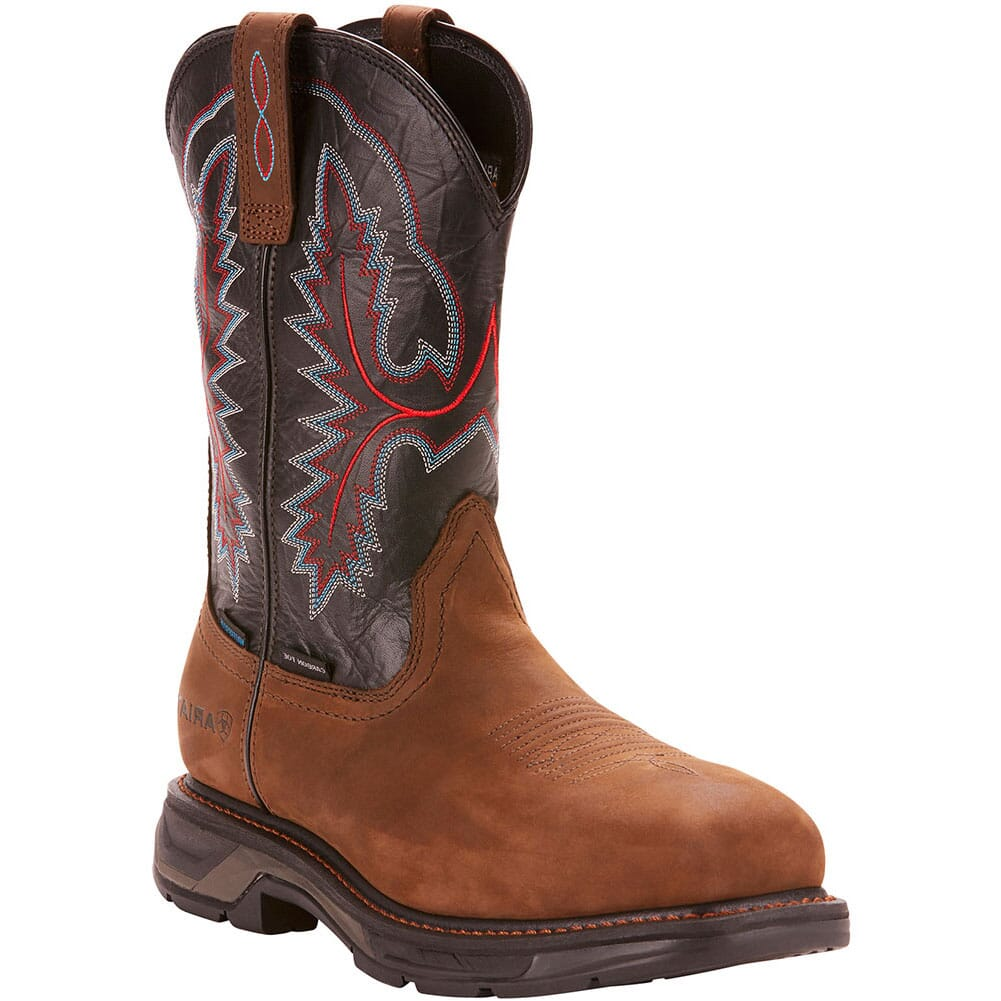Image for Ariat Men's WorkHog XT WP Safety Boots - Brown/Black from bootbay