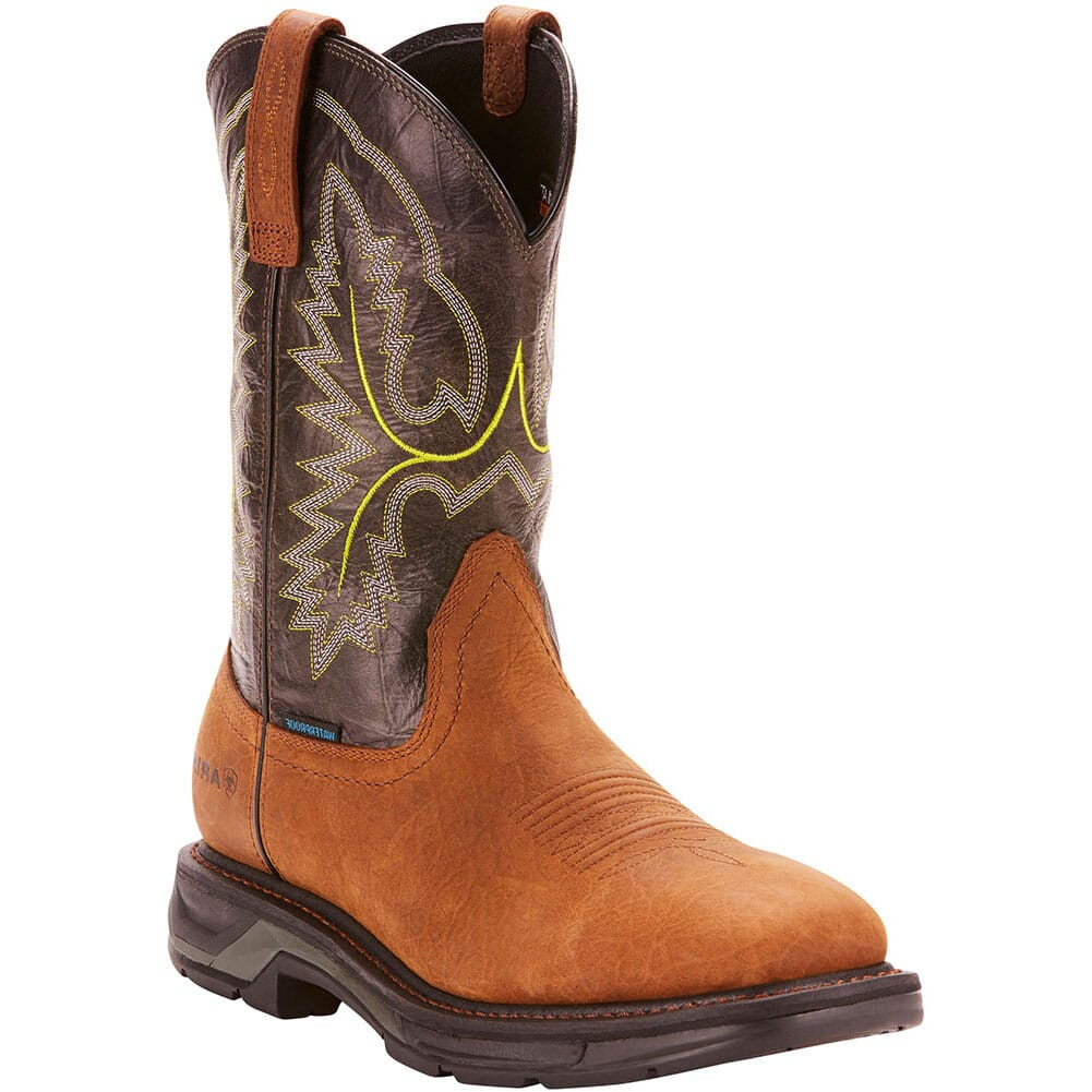 Image for Ariat Men's WorkHog XT WP Work Boots - Tumbled Bark from bootbay