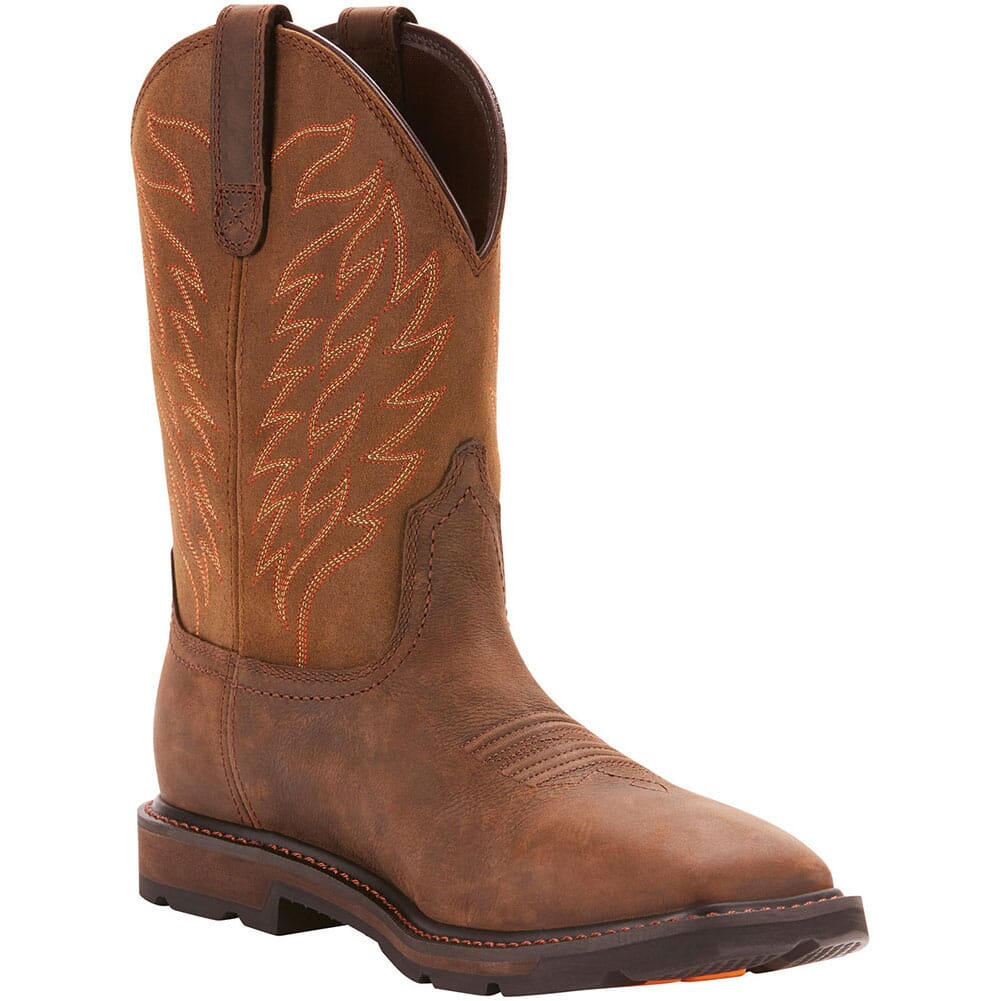 Image for Ariat Men's Groundbreaker H2O Western Boots - Dark Brown from bootbay