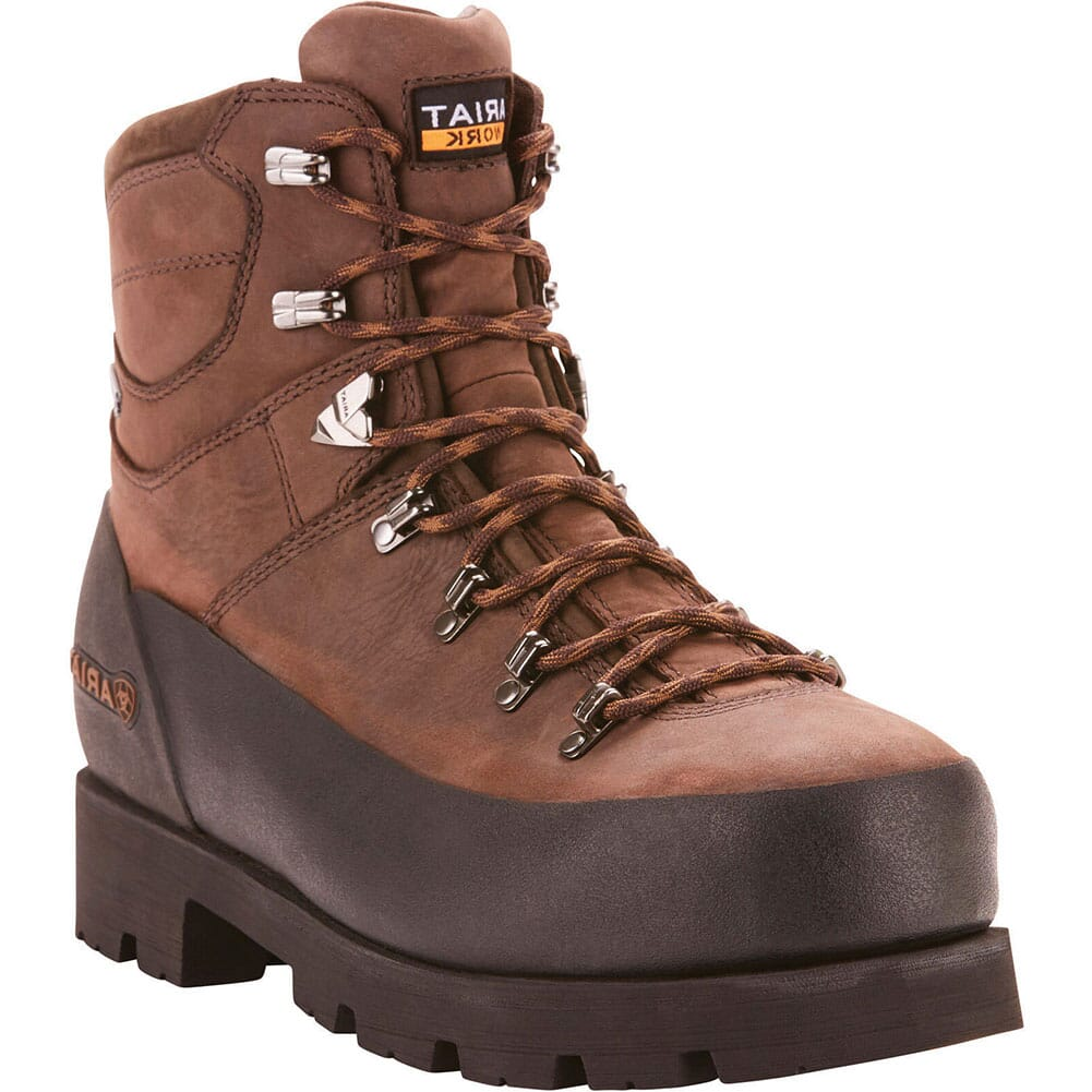 Image for Ariat Men's Linesman Ridge Safety Boots - Bitter Brown from bootbay