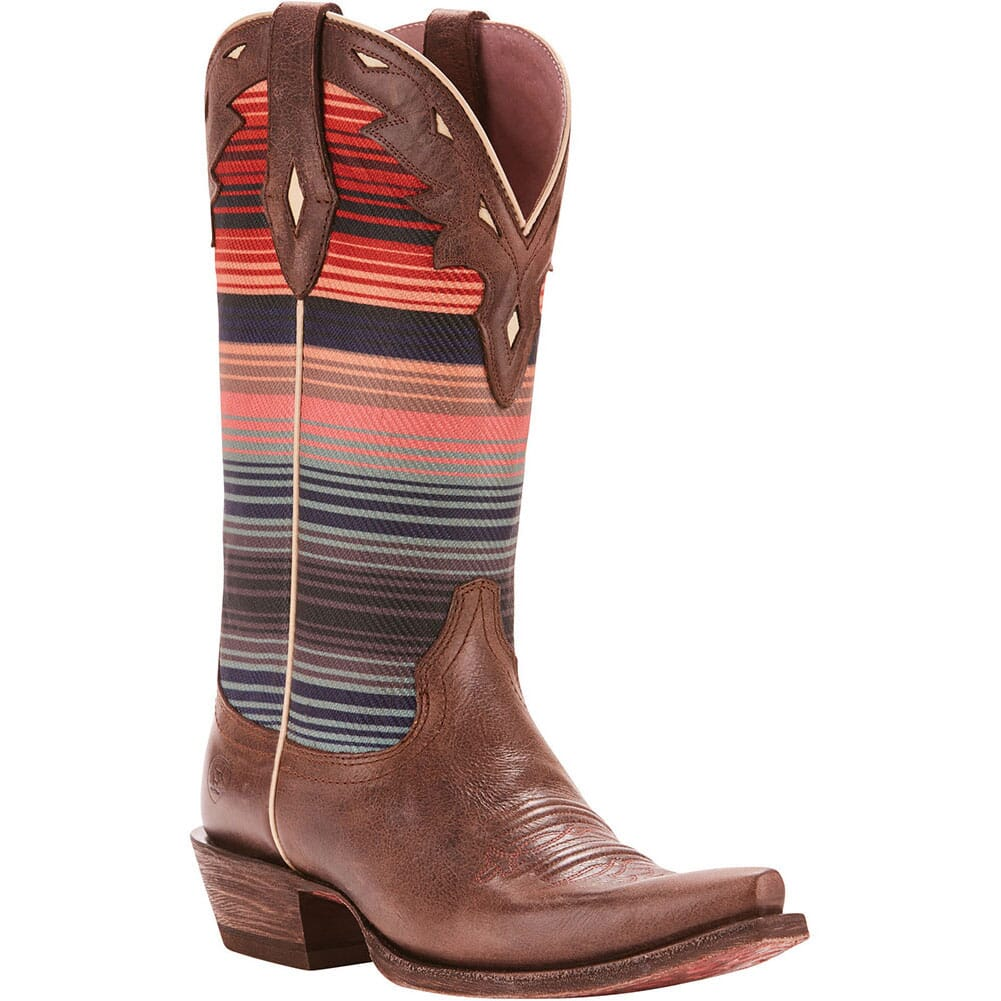Image for Ariat Women's Circuit Serape Western Boots - Chocolate Grey/Serape from elliottsboots