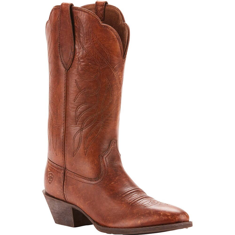 Image for Ariat Women's Heritage Western Boots - Distressed Brown from elliottsboots