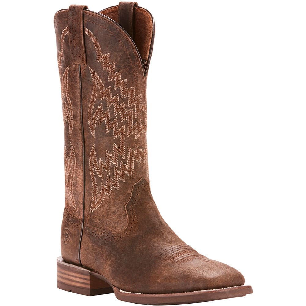 Image for Ariat Men's Tycoon Western Boots - Antique Grey from bootbay