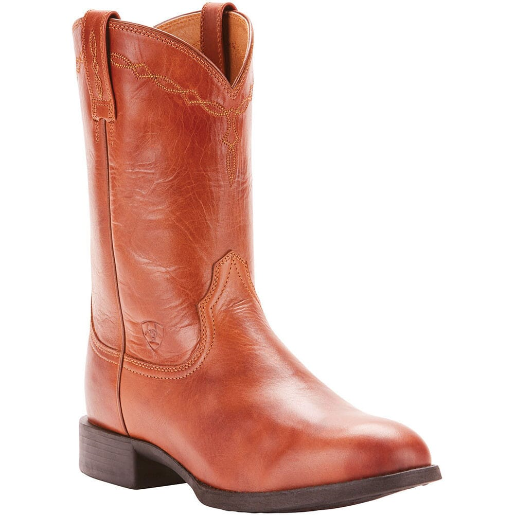 Image for Ariat Men's Heritage Western Ropers - Naturally Cognac from bootbay
