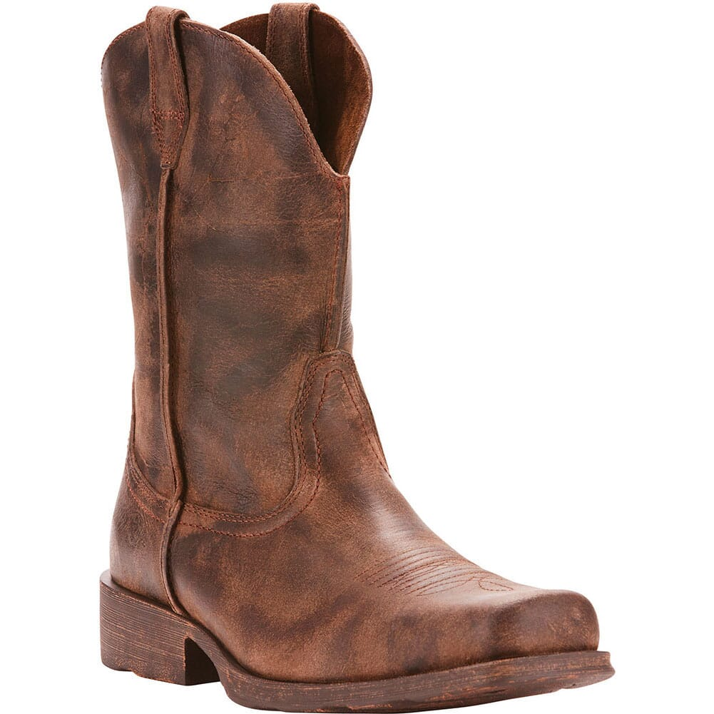 Image for Ariat Men's Rambler Western Boots - Antique Grey from bootbay