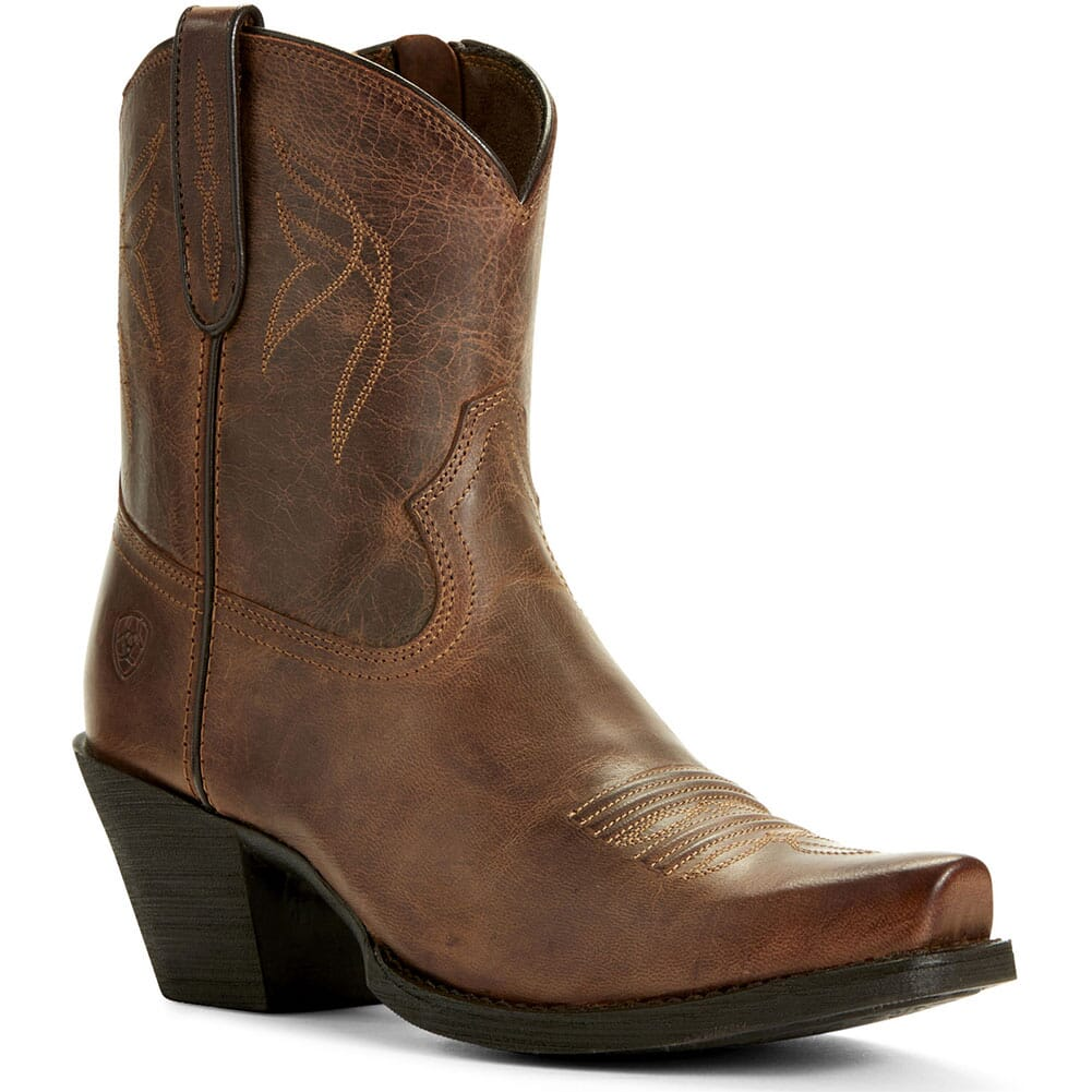Image for Ariat Women's Lovely Western Boots - Sassy Brown from elliottsboots