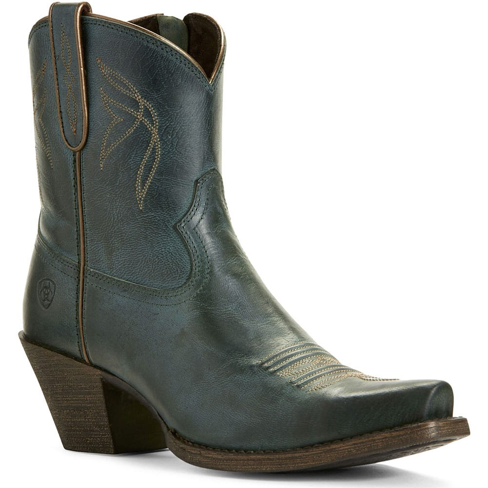 Image for Ariat Women's Lovely Western Boots - Blue Grass from bootbay