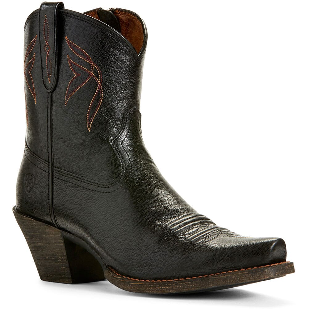 Image for Ariat Women's Lovely Western Boots - Jackal Black from bootbay
