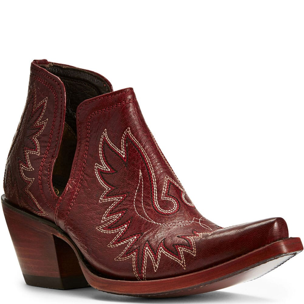 Image for Ariat Women's Dixon Western Boots - Sangria from bootbay