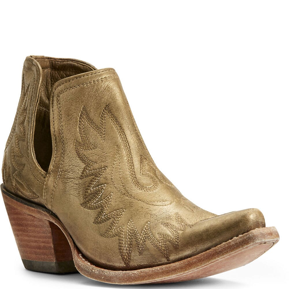Image for Ariat Women's Dixon Western Boots - Beige/Khaki from bootbay