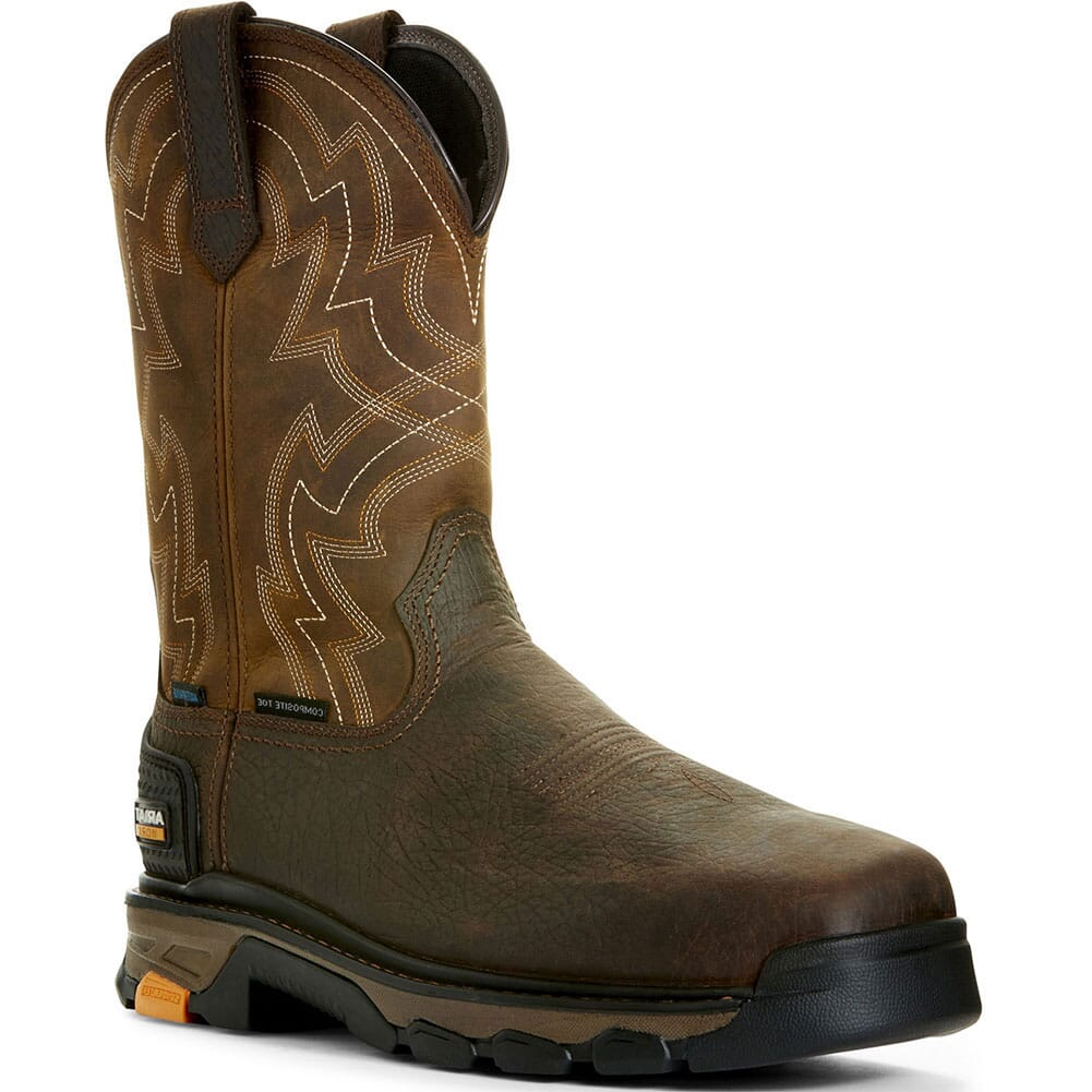 Image for Ariat Men's Intrepid Force WP Safety Boots - Earth from bootbay
