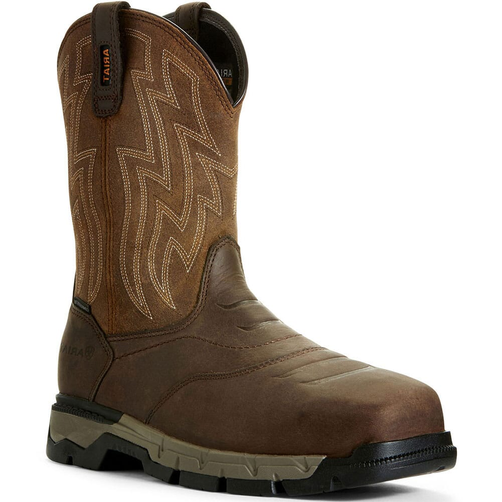 Image for Ariat Men's Rebar Flex Safety Boots - Brown/Wicker from bootbay