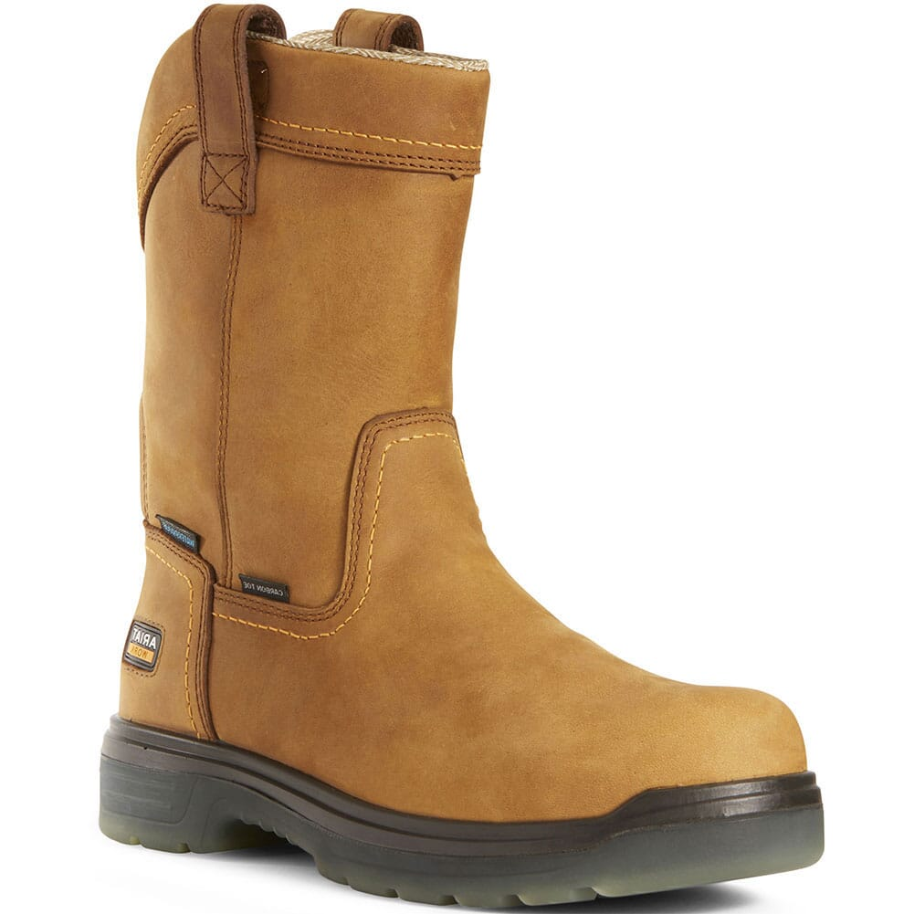 Image for Ariat Men's Turbo Pullon H2O Safety Boots - Aged Bark from bootbay