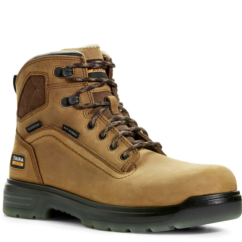 Image for Ariat Men's Turbo H2O Safety Boots - Aged Bark from bootbay