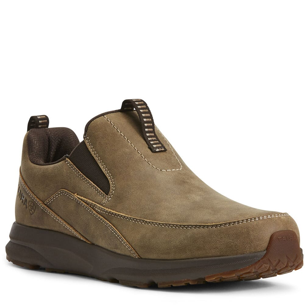 Image for Ariat Men's Spitfire Casual Slip On - Brown Bomber from bootbay