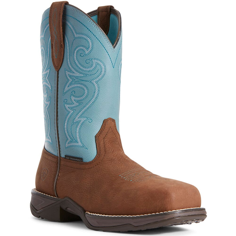 Image for Ariat Women's Anthem Safety Boots - Latigo Brown from bootbay