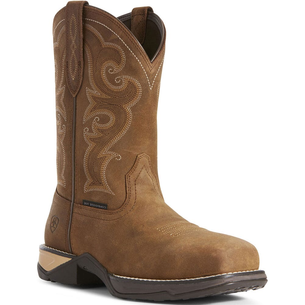 Image for Ariat Women's Anthem Safety Boots - Chipmunk Brown from bootbay