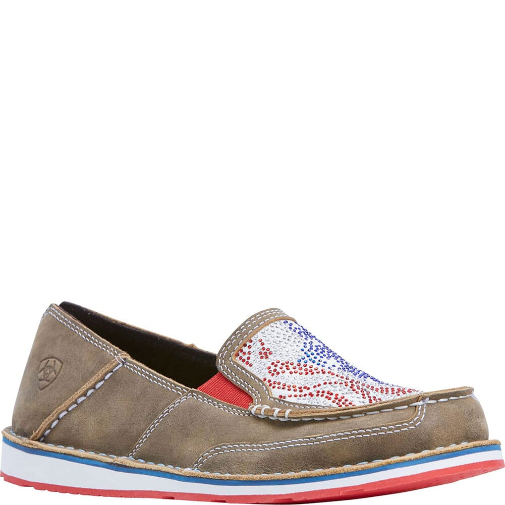 Image for Ariat Women's Cruiser Casual Shoes - Stars Stripes from bootbay
