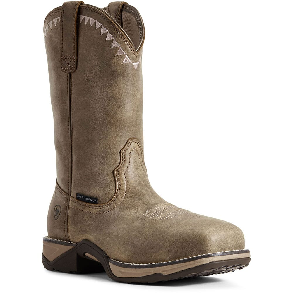 Image for Ariat Women's Anthem Deco Safety Boots - Brown Bomber from bootbay