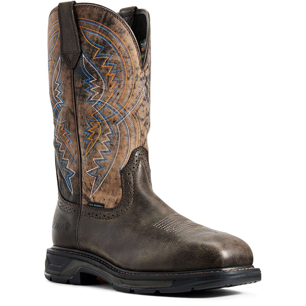 Image for Ariat Men's WorkHog XT Coil Safety Boots - Woodsmoke from bootbay