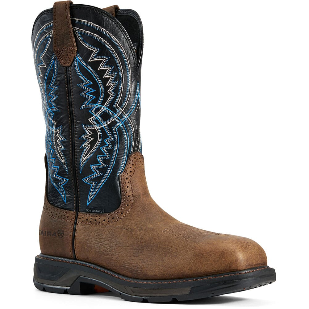 Image for Ariat Men's WorkHog XT Coil Safety Boots - Earth/Twlight from bootbay
