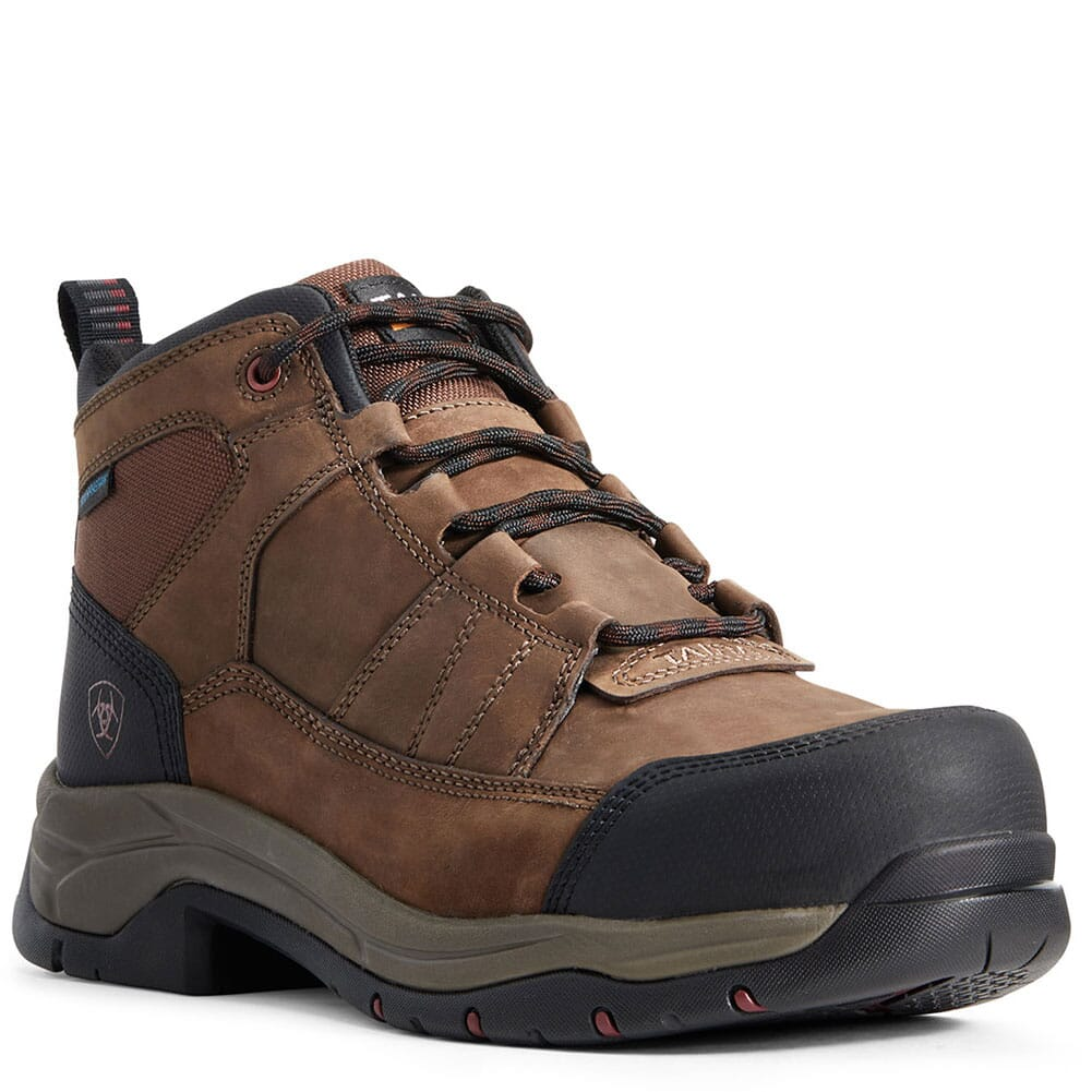 Image for Ariat Men's Telluride WP EH Safety Boots - Brown from bootbay