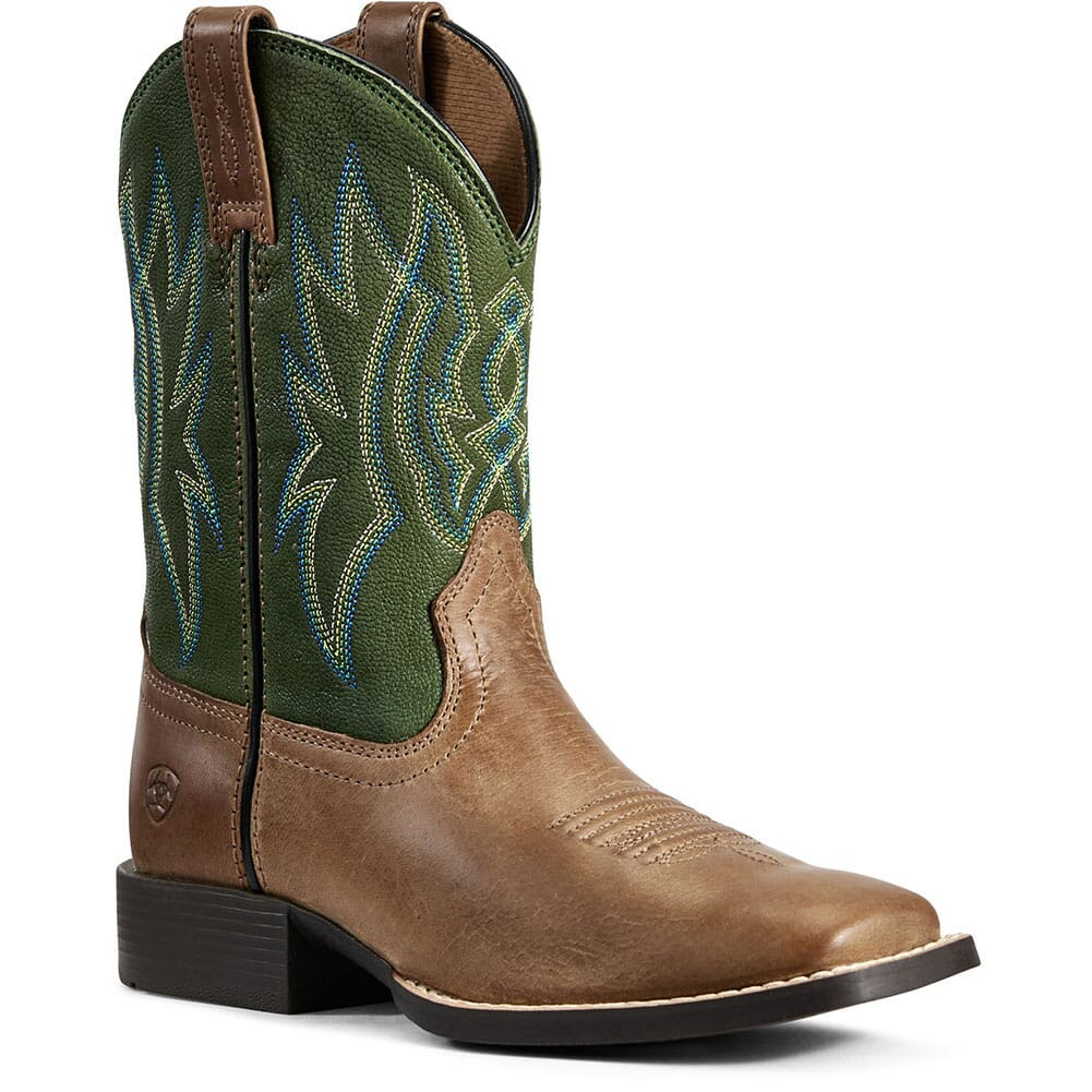 Image for Ariat Kid's Pace Setter Western Boots - Baked Cookie from bootbay