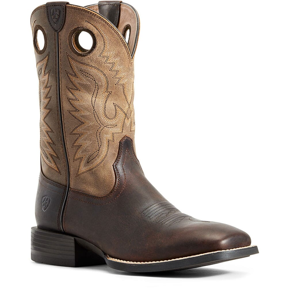 Image for Ariat Men's Sport Ranger Western Boots - Barley Brown/Toasted Tan from bootbay