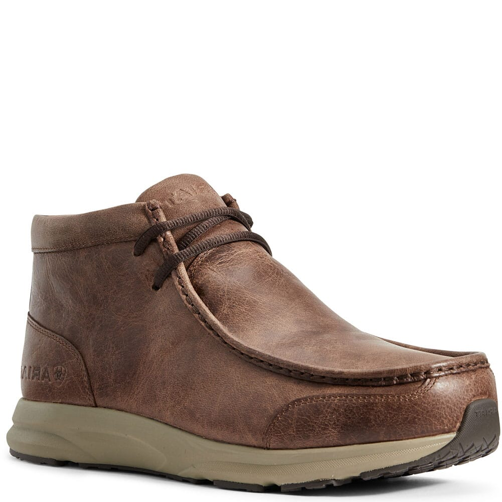 Image for Ariat Men's Spitfire Lace-Up Casual Boots - Brown from bootbay