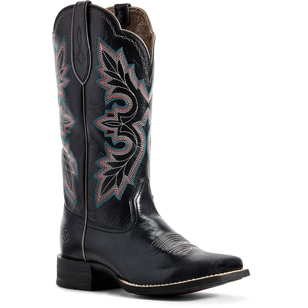 Image for Ariat Women's Breakout Western Boots - Jackal Black from bootbay