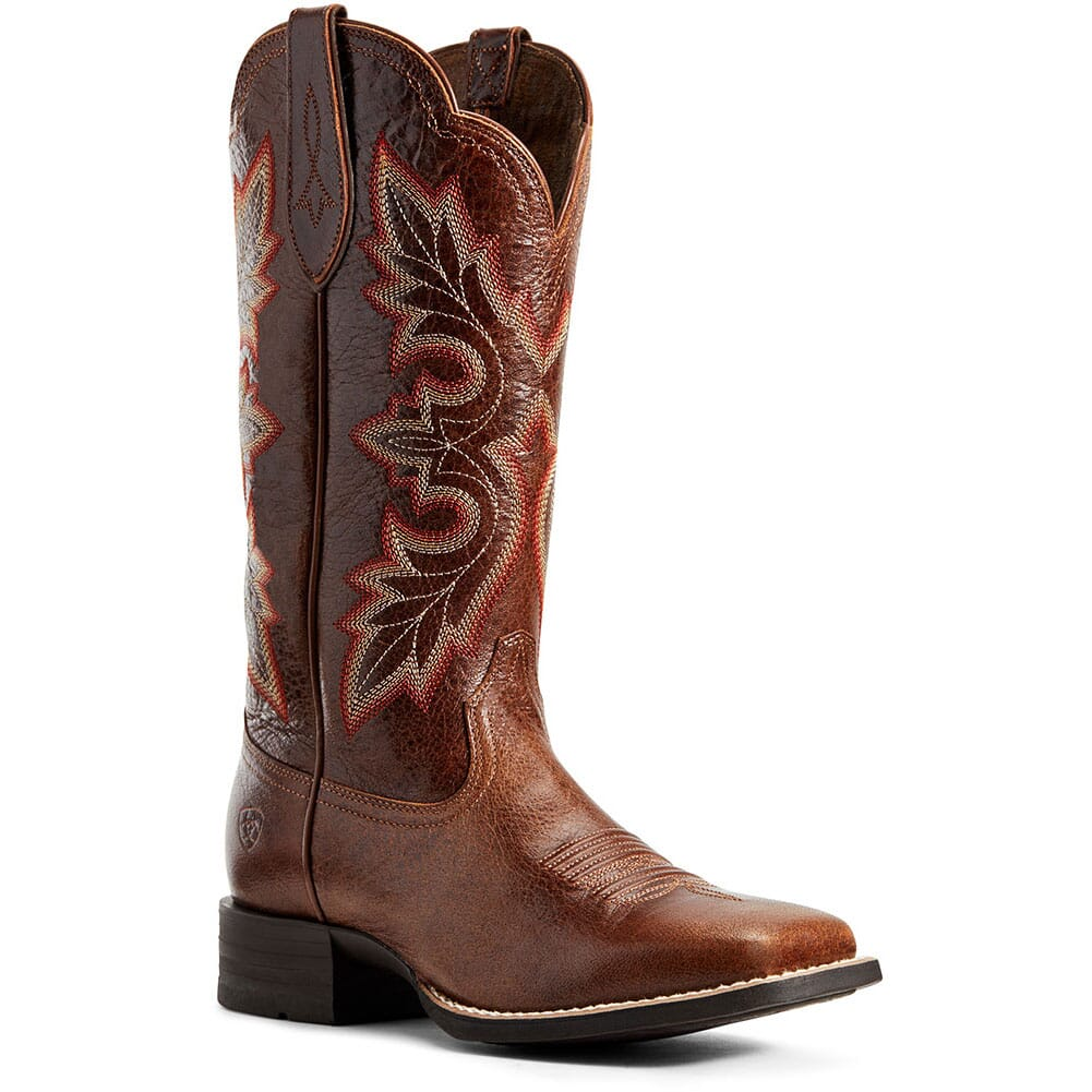 Image for Ariat Women's Breakout Western Boots - Rustic Brown from bootbay