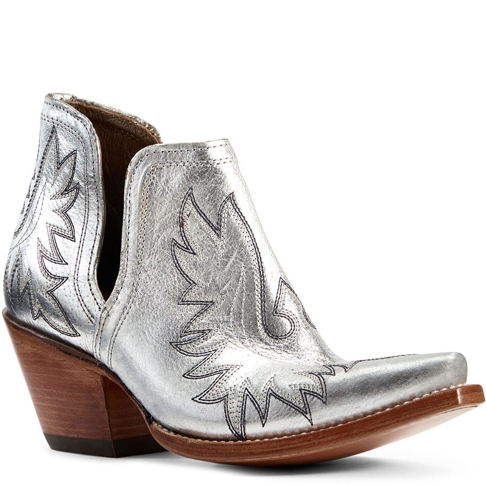 Image for Ariat Women's Dixon Western Boots - Silver Metallic from bootbay