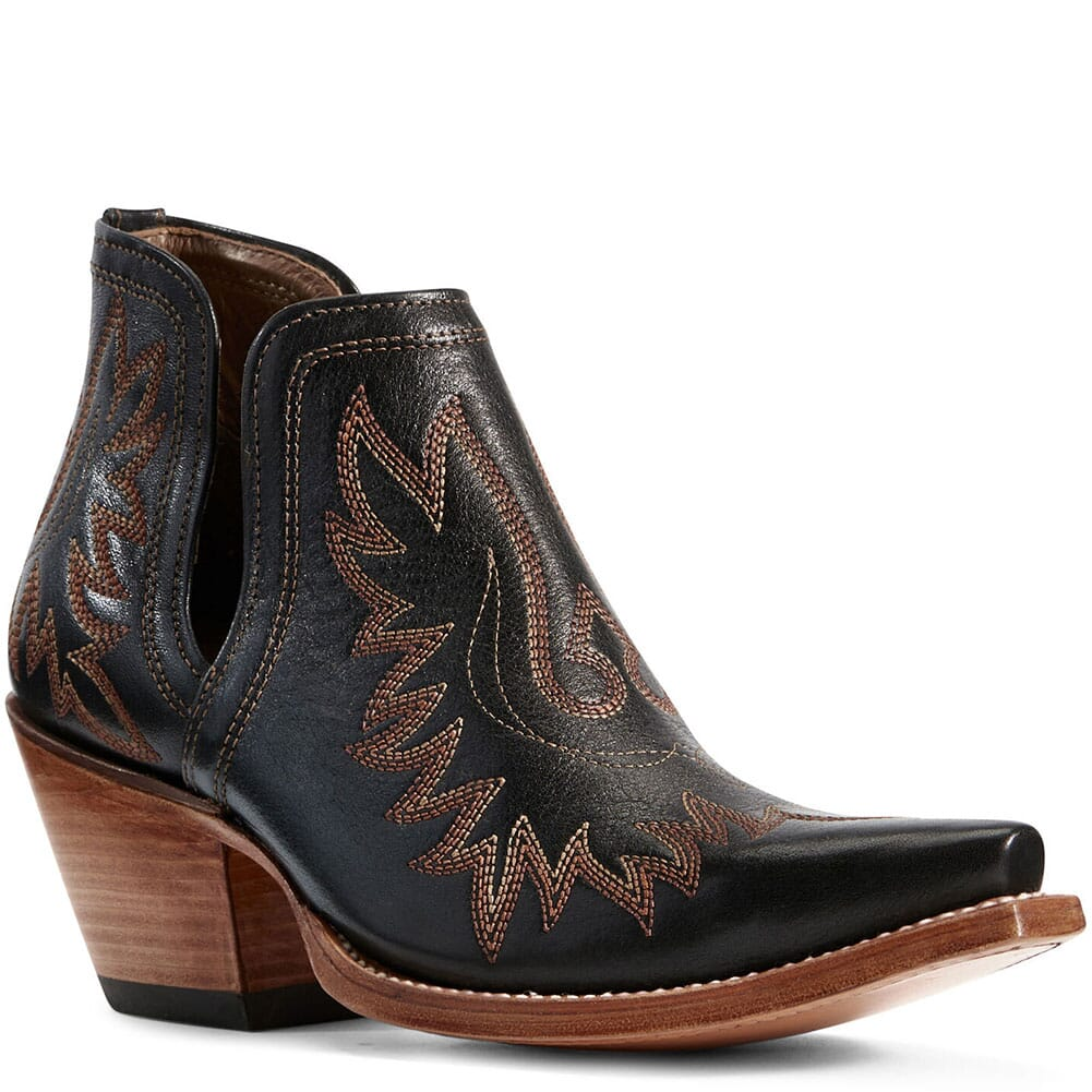 Image for Ariat Women's Dixon Western Boots - Brooklyn Black from bootbay