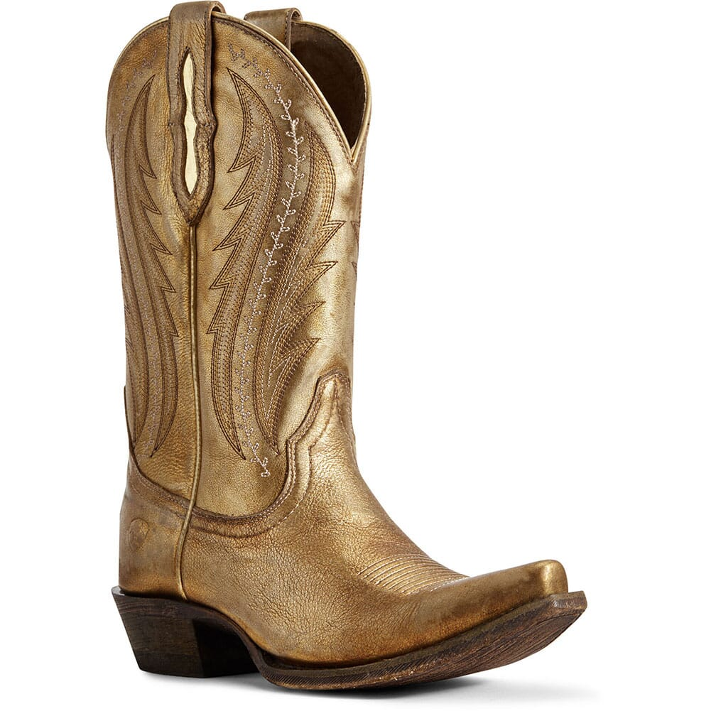 Image for Ariat Women's Tailgate Western Boots - Distressed Gold from elliottsboots