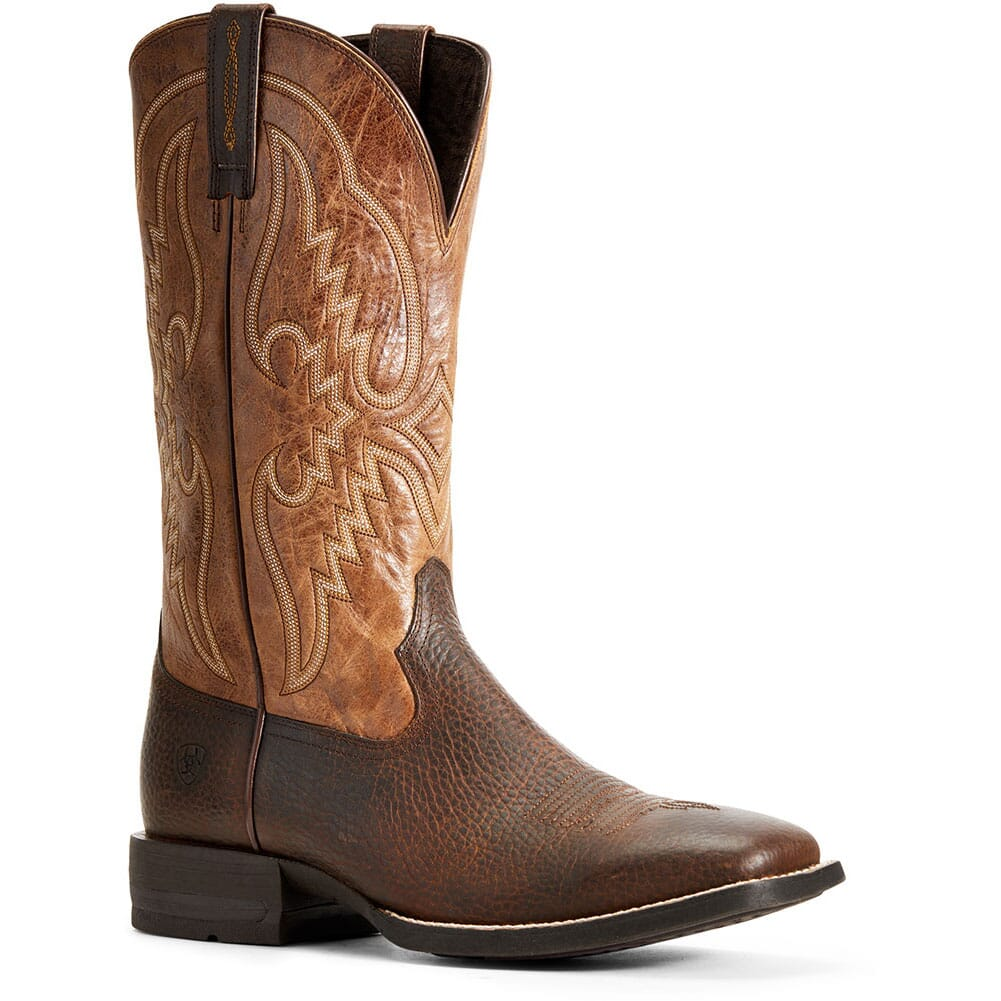 Image for Ariat Men's Round Pen Western Boots - Copper Kettle from bootbay