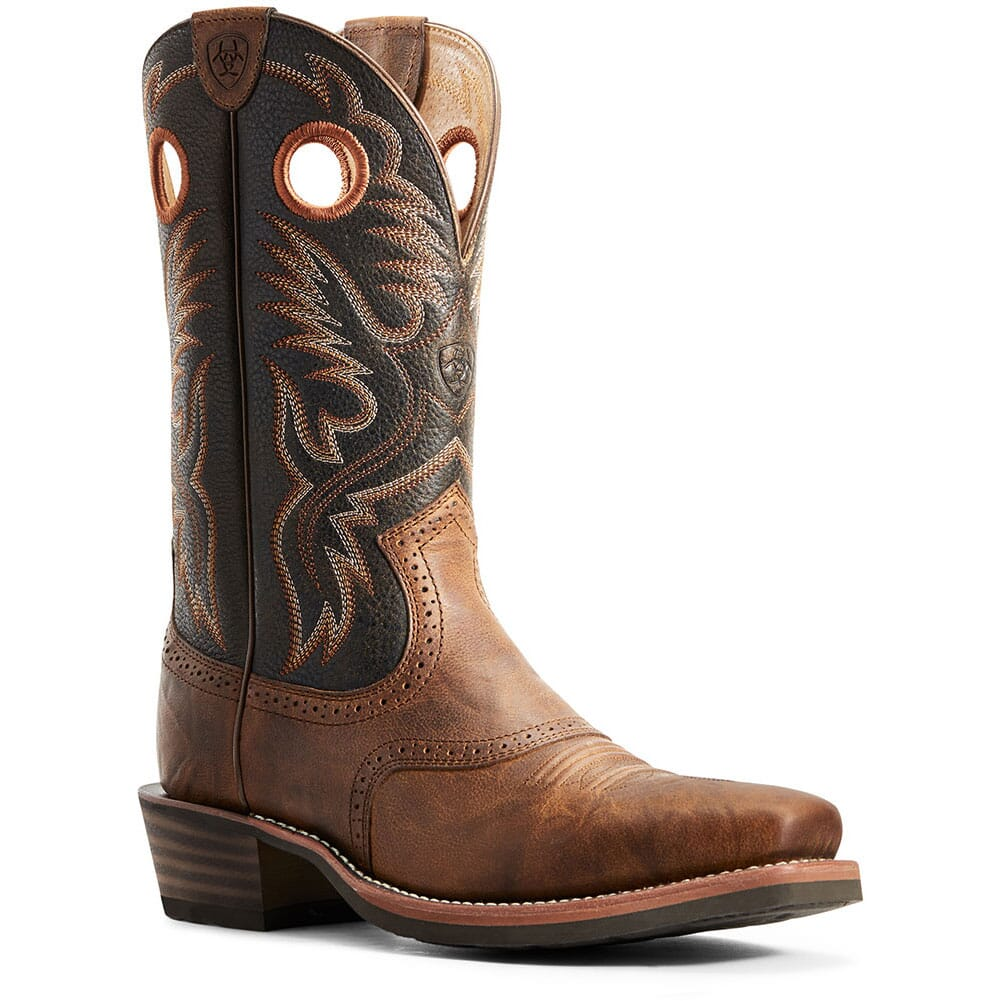 Image for Ariat Women's Heritage Roughstock Western Boots - Sorrel Crunch from bootbay
