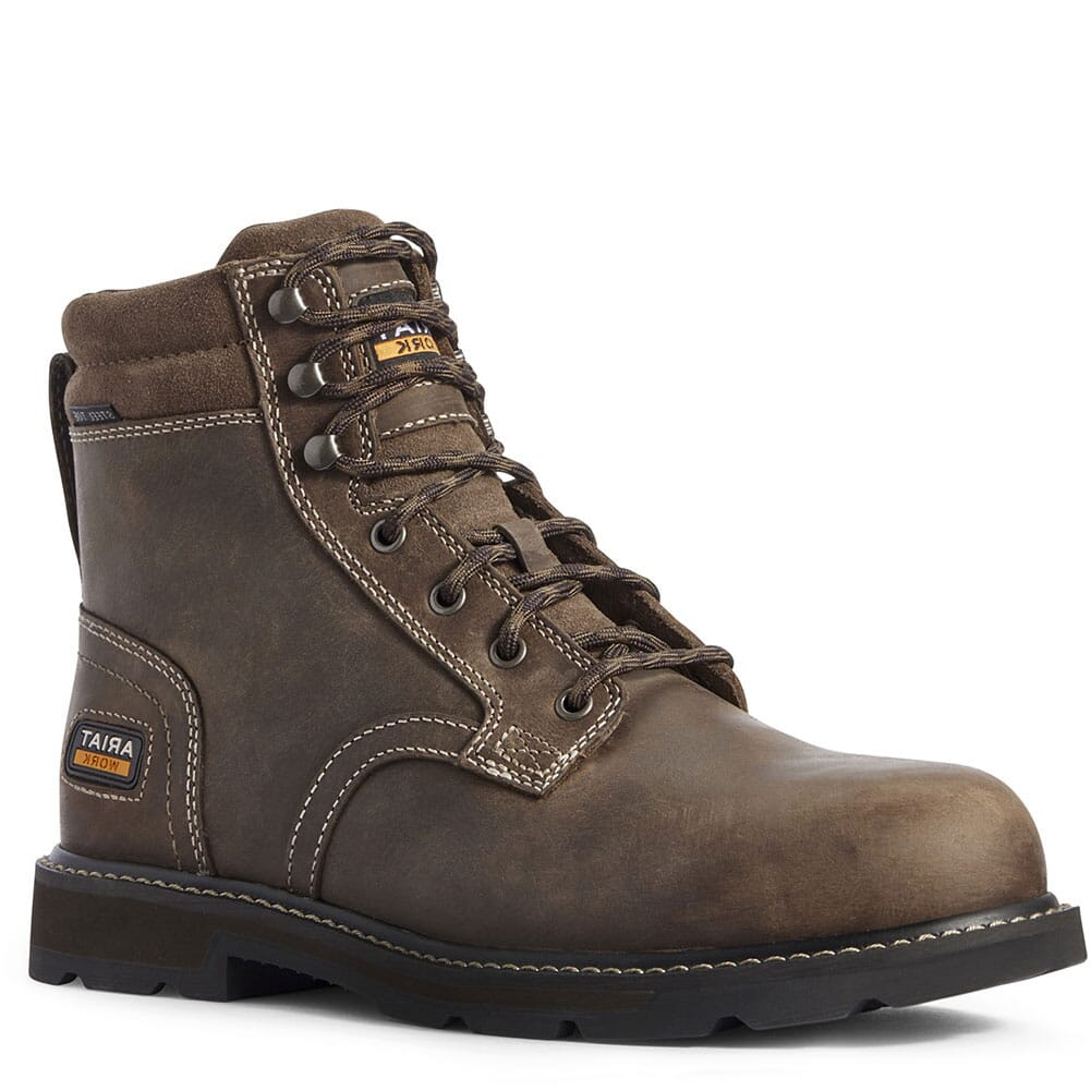 Image for Ariat Men's Groundbreaker II Safety Boots - Brown from bootbay