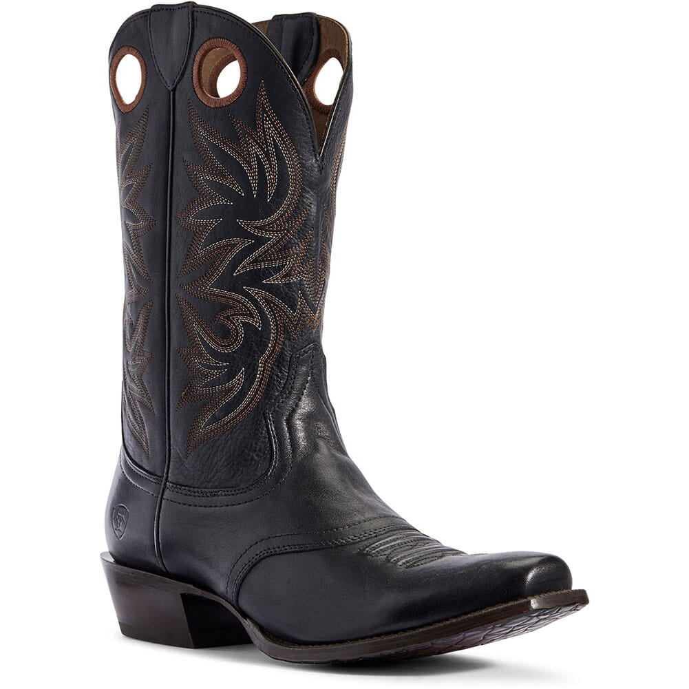 Image for Ariat Men's Circuit Striker Western Boots - Naturally Black from bootbay