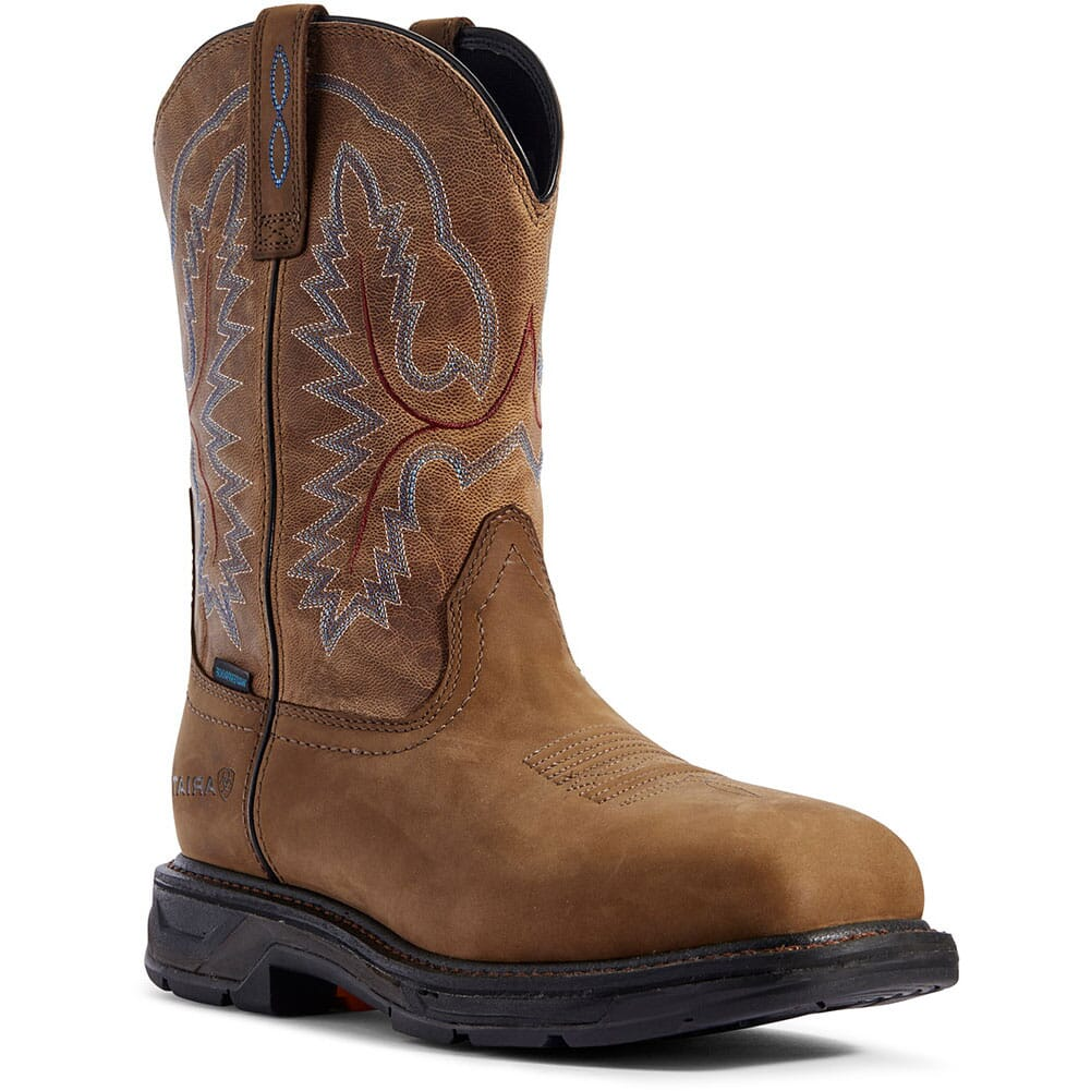 Image for Ariat Men's WorkHog XT WP Work Boots - Brown from bootbay
