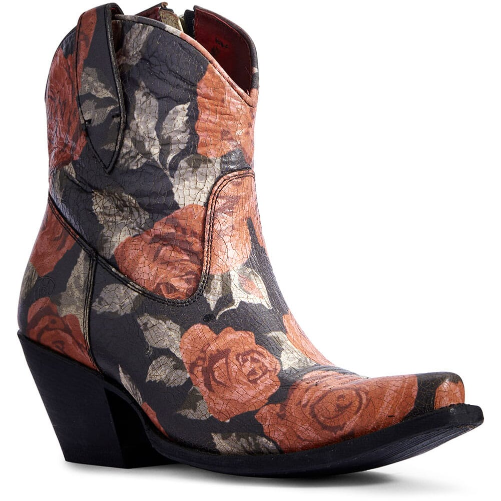 Image for Ariat Women's Circuit Cruz Western Boots - Vintage Rose Print from elliottsboots