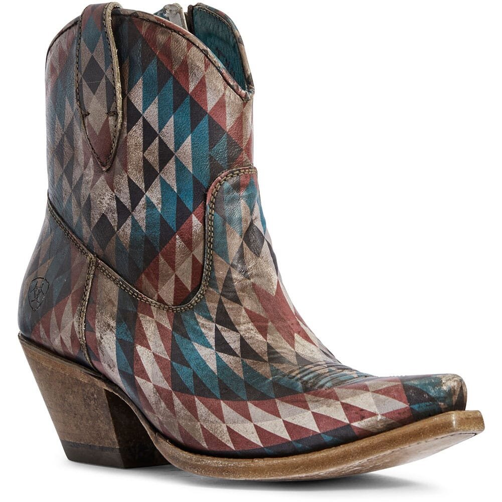 Image for Ariat Women's Circuit Cruz Western Boots - Eye Dazzler Aztec from bootbay