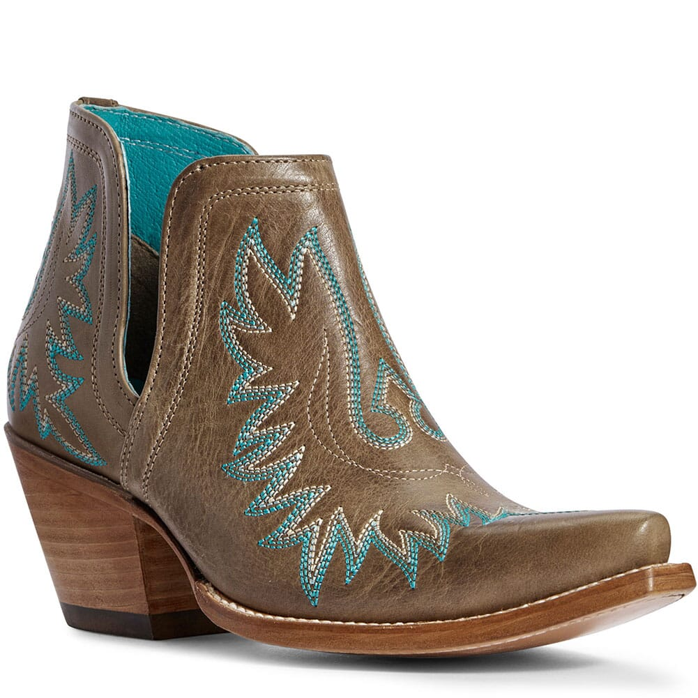 Image for Ariat Women's Dixon Western Boots - Ash Brown from bootbay